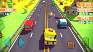 Blocky Highway Traffic Racing