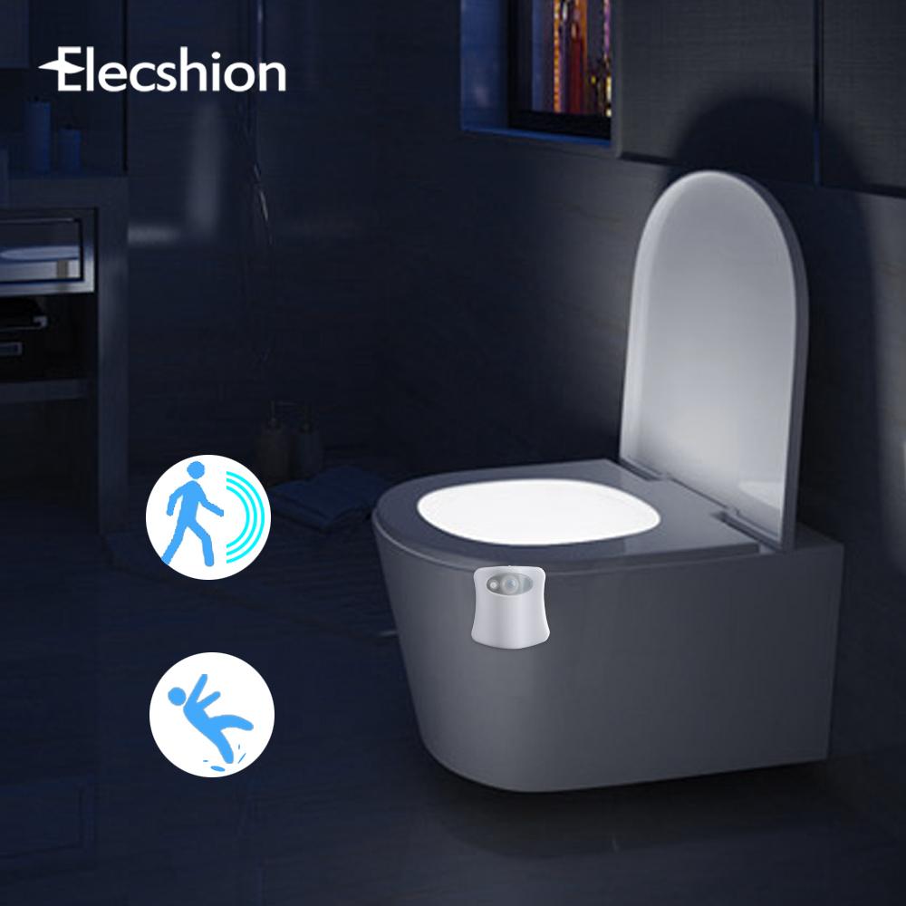 Ночник с датчиком движения в туалет