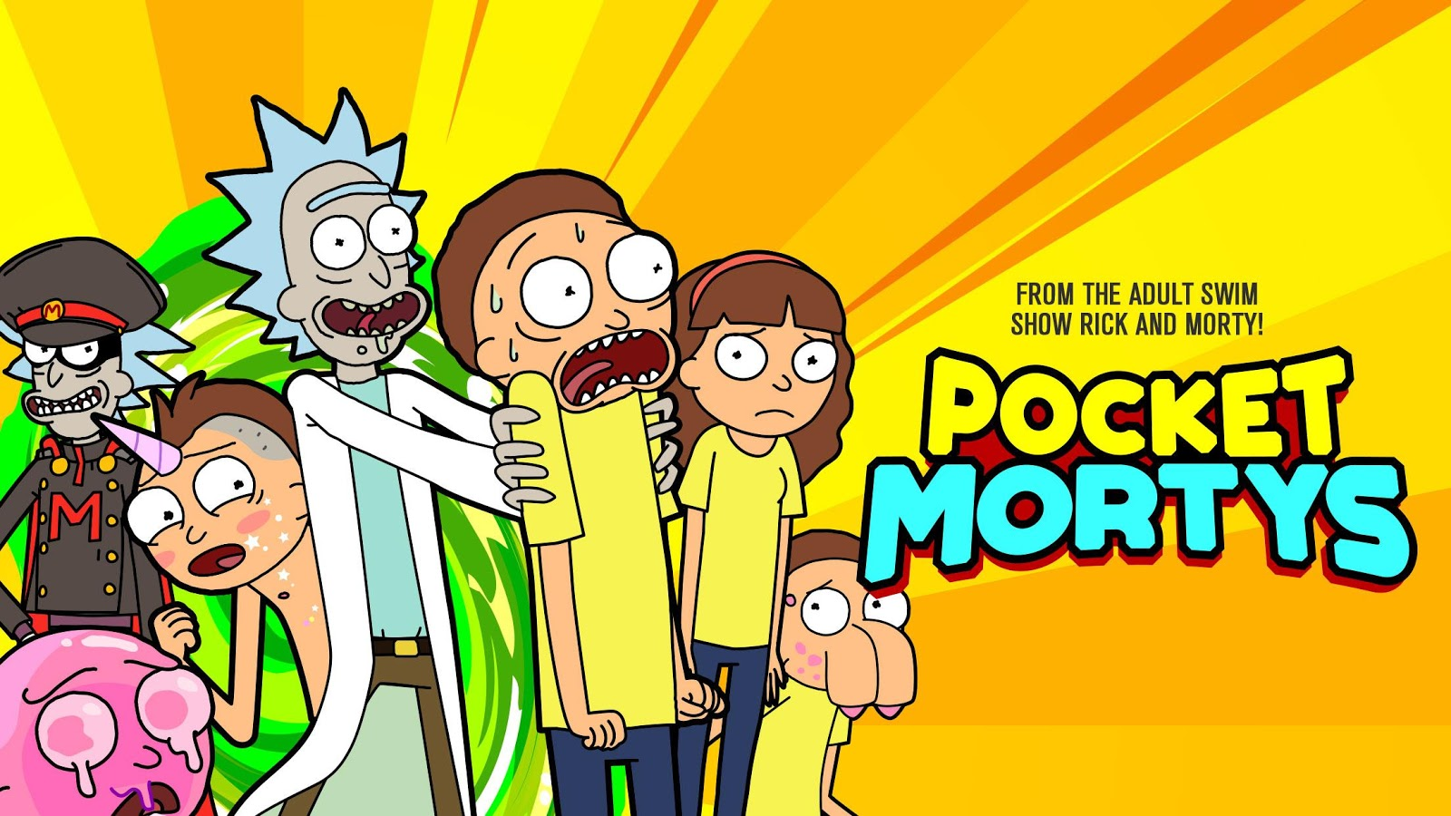Pocker Mortys for android multiplayer