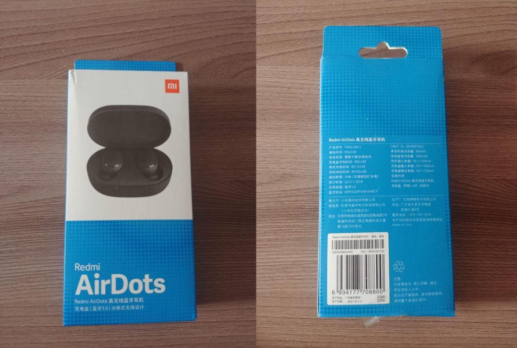 AirDots упаковка